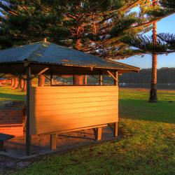 BIG4 Narooma's BBQ areas are available for all guests