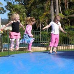 Jump for joy on the Jumping Pillow!