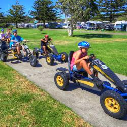 Zoom around BIG4 Narooma on our Pedal Go Karts