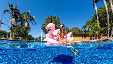 Swimming pool and other fmaily friendly facilities in Narooma